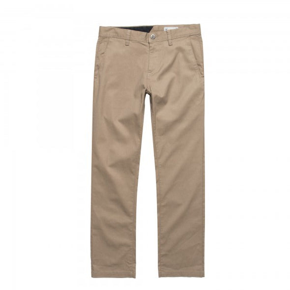 VOLCOM - FRICKIN MODERN STRETCH PANT - KHAKI - Antisocial Collective