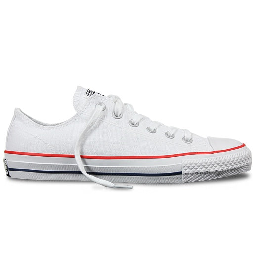 CONS - CTAS PRO LOW - WHT/RED