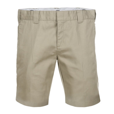 "DICKIES - WR872 - SLIM FIT WORK SHORT 10"" - KHAKI"