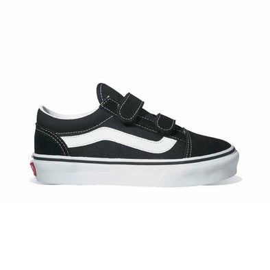 VANS - OLD SKOOL V KIDS - BLACK/WHITE