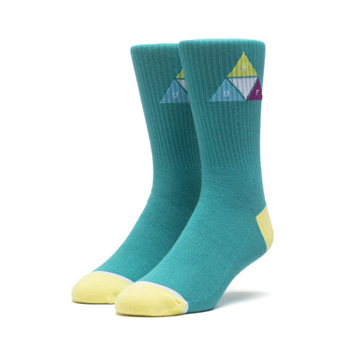 HUF - PRISM TRIANGLE SOCK - QUETZAL GREEN