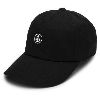 VOLCOM - CIRCLE STONE DAD HAT - BLACK
