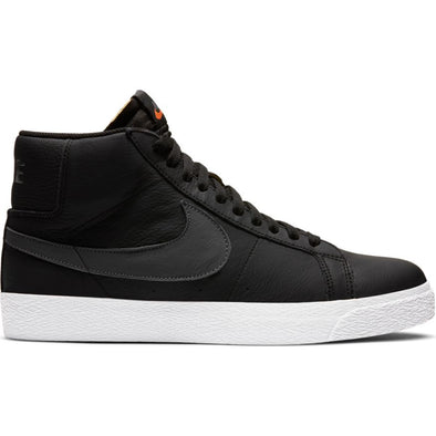 NIKE SB - ZOOM BLAZER MID ISO - BLACK/DARK GREY-BLACK-WHITE