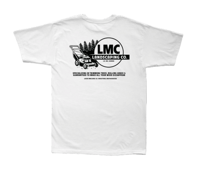 LOSER MACHINE - LANDSCAPING S/S TEE - WHITE