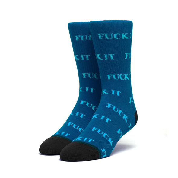 HUF - FUCK IT SOCK - OIL BLUE