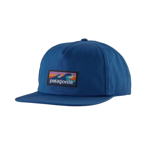PATAGONIA - BOARDSHORT LABEL FUNFARER CAP - SUPERIOR BLUE - Antisocial Collective