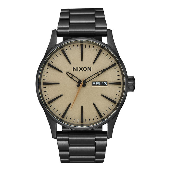 NIXON - SENTRY SS 42 MM - BLACK / KHAKI