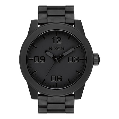 NIXON - CORPORAL SS - ALL MATTE BLACK/POLISHED BLACK