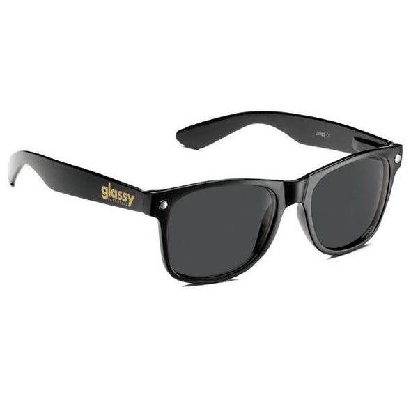 GLASSY SUNNIES - LEONARD - BLACK