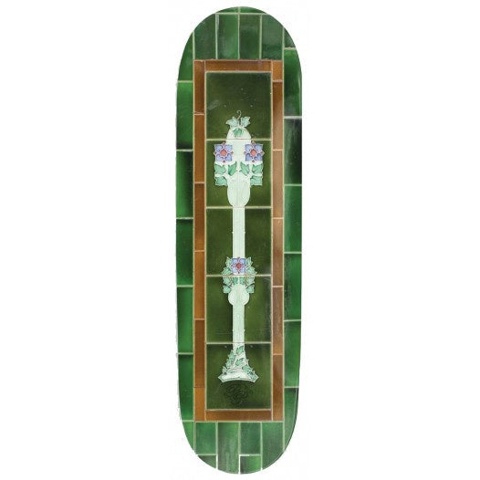 PASS~PORT - TILE LIFE GREEN SKATEBOARD DECK - 8.25