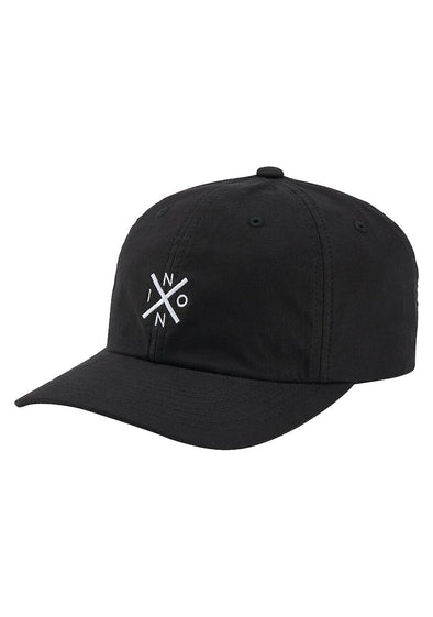 NIXON - DEL MAR STRAPBACK HAT - BLACK