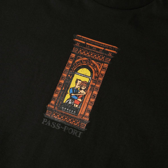 PASS~PORT - PRE-MEDI TEE - BLACK