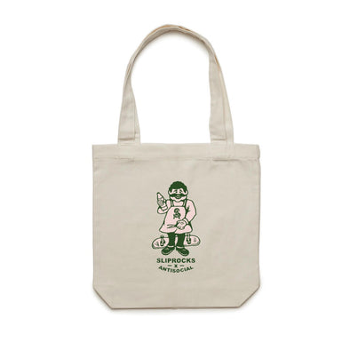 ANTISOCIAL X SLIPROCKS - INN KEEPER TOTE - CREAM