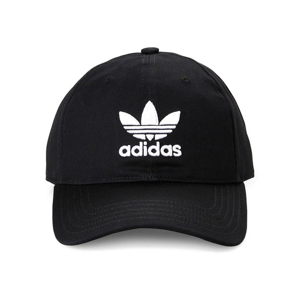 ADIDAS - TREFOIL CLASSIC CAP - BLACK/WHITE - Antisocial Collective