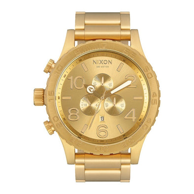 NIXON - 51-30 CHRONO - ALL GOLD