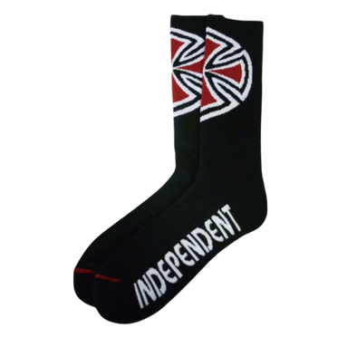 INDEPENDENT - OG CROSS SOCKS 4 PAIRS - BLACK
