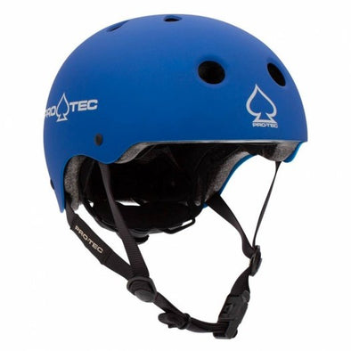 PRO-TEC - JR CLASSIC FIT CERTIFIED HELMET - METALLIC BLUE