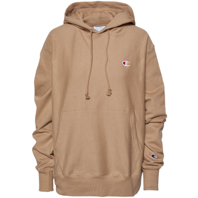 CHAMPION - REVERSE WEAVE PULLOVER HOODIE - COUNTRY WALNUT