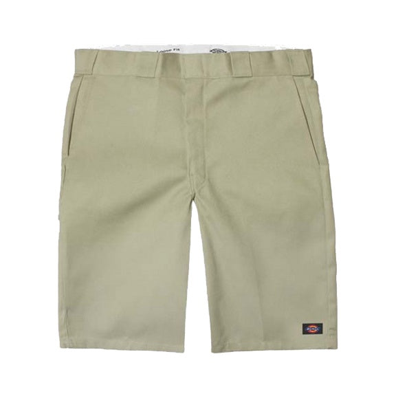 DICKIES - 131 SLIM STRAIGHT SHORT - KHAKI - Antisocial Collective