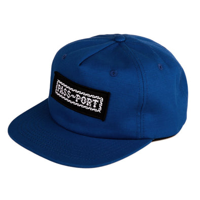 "PASS~PORT - ""BARBS"" CAP - BLUE"