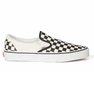 VANS - CLASSIC SLIP-ON - BLACK/WHITE CHECKERBOARD