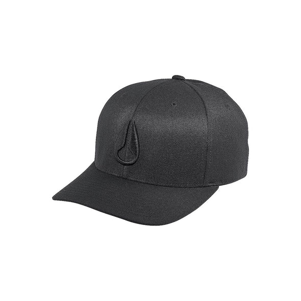 NIXON - DEEP DOWN FLEXFIT HAT - BLACK