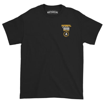 ANTISOCIAL X BRASS MONKEY - HOT SAUCE COMMITTEE S/S TEE - BLACK