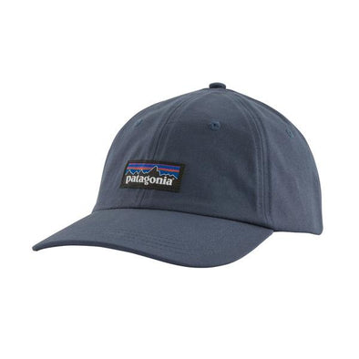 PATAGONIA - P-6 LABEL TRAD CAP - DOLOMITE BLUE - Antisocial Collective