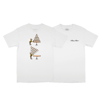 "PASS~PORT ""CHAMPERS"" TEE - WHITE"