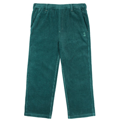 THE SNAKE HOLE - PHAT CAT CORDUROY CARPENTERS PANT - TEAL