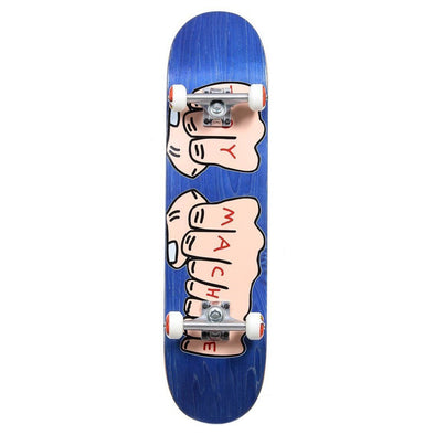 TOY MACHINE - FISTS WOODGRAIN COMPLETE SKATEBOARD - 7.75