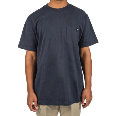 DICKIES - HEAVYWEIGHT CREW TEE - DARK NAVY