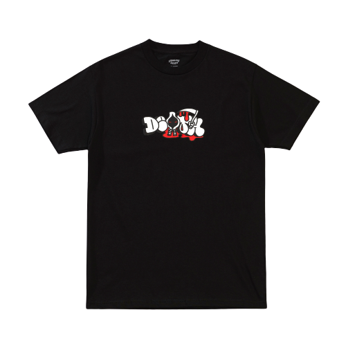 CRAWLING DEATH - THROWY T-SHIRT - BLACK