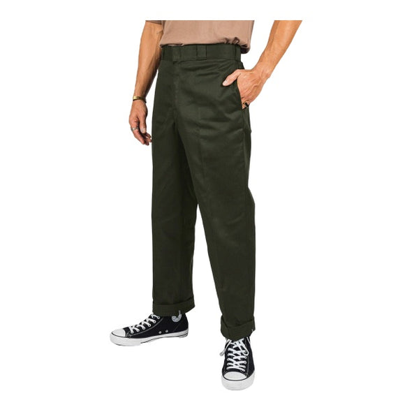 DICKIES - ORIGINAL FIT 874 WORK PANT - OLIVE GREEN - Antisocial Collective