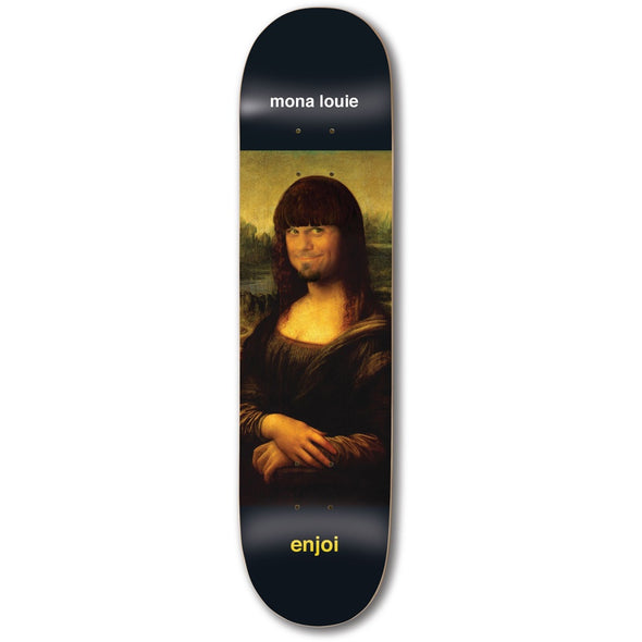 ENJOI - LOUIE BARLETTA RENAISSANCE IMPACT LIGHT SKATEBOARD DECK - 8.25