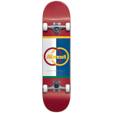 ALMOST - IVY LEAGUE COMPLETE SKATEBOARD - 8.125""