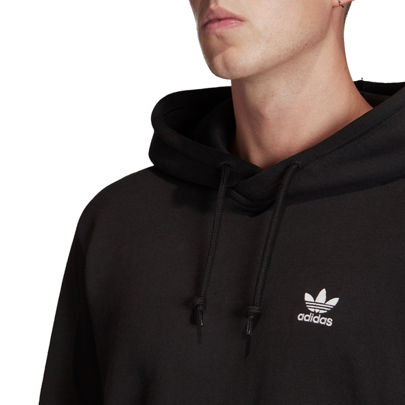 ADIDAS - TREFOIL ESSENTIALS HOODIE - BLACK - Antisocial Collective