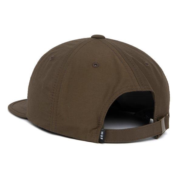 HUF - FORMLESS CLASSIC H 6-PANEL HAT - MILITARY GREEN