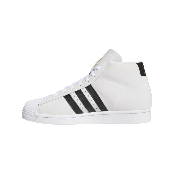 ADIDAS - PRO MODEL - CLOUD WHITE / CORE BLACK / GOLD METALLIC - Antisocial Collective