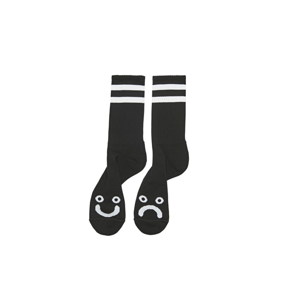 POLAR - HAPPY SAD SOCKS - BLACK - Antisocial Collective