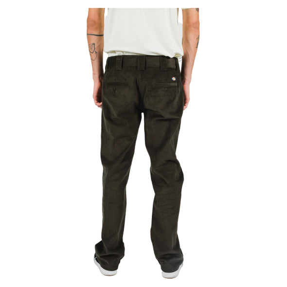 DICKIES - SONORA 873 SLIM STRAIGHT FIT PANT - DARK OLIVE - Antisocial Collective