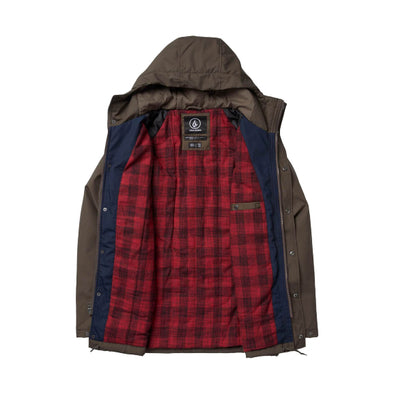 VOLCOM  - RENTON WINTER 5K JACKET - MAJOR BROWN