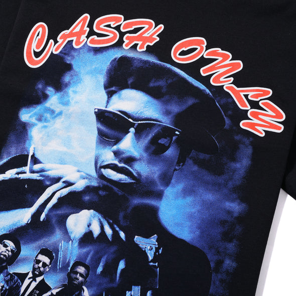 CASH ONLY - NINO TEE - BLACK - Antisocial Collective