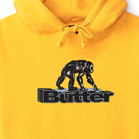 BUTTER GOODS - PRIMATE PULLOVER - GOLD - Antisocial Collective