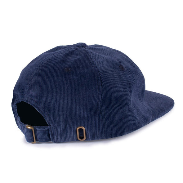 THE SNAKE HOLE - SNAKES & ROSES 6 PANEL - NAVY - Antisocial Collective