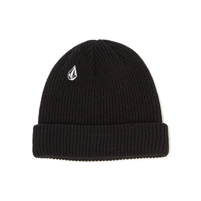 VOLCOM - FULL STONE BEANIE - BLACK - Antisocial Collective
