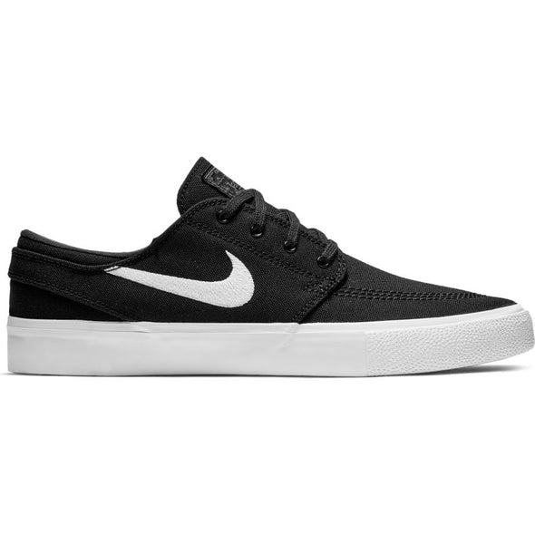 NIKE SB - ZOOM JANOSKI RM CANVAS - BLACK/WHITE-THUNDER GREY-GUM LIGHT BROWN - Antisocial Collective
