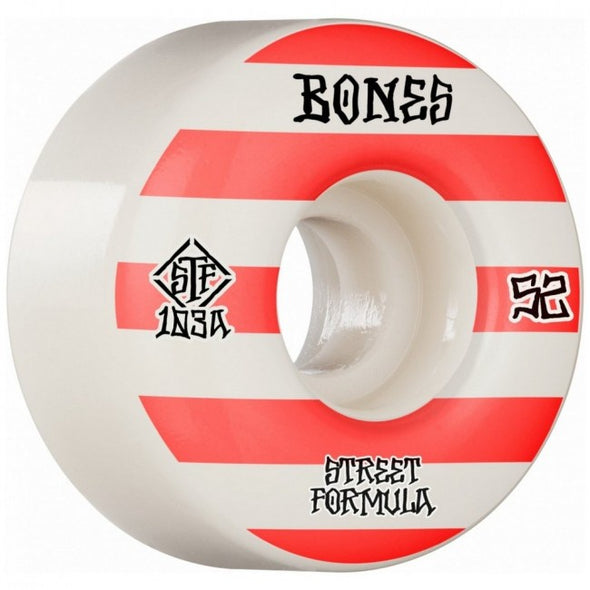 BONES - STF V4 WIDES PATTERNS WHEELS - 53MM