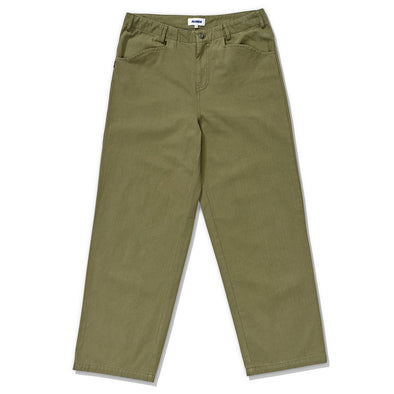 XLARGE - HERRINGBONE TWILL 91 PANT - MILITARY GREEN