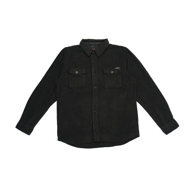 INDEPENDENT - T/C FLEECE SHIRT - BLACK - Antisocial Collective